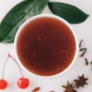 Чай с вишней и пряностями
